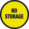 No Storage -  Floor Sign