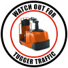 Watch Out For Tugger Traffic