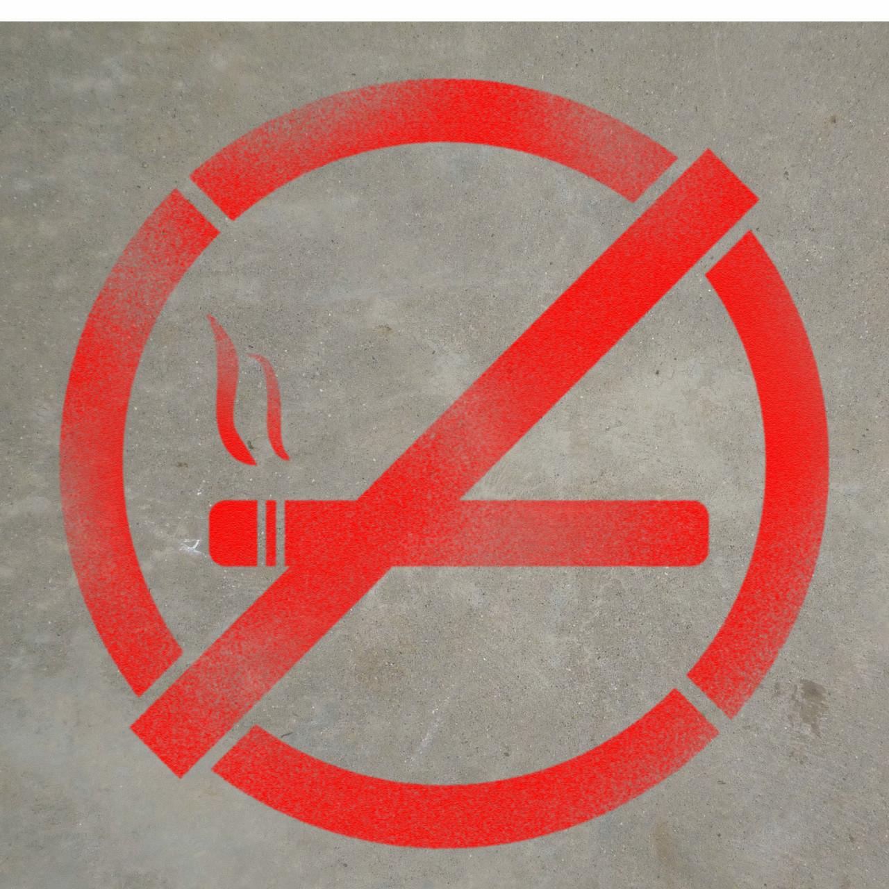 No smoking symbol stencil creative safety supply no smoking symbol stencil biocorpaavc Image collections