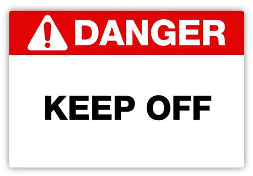 Danger - Keep Off Label