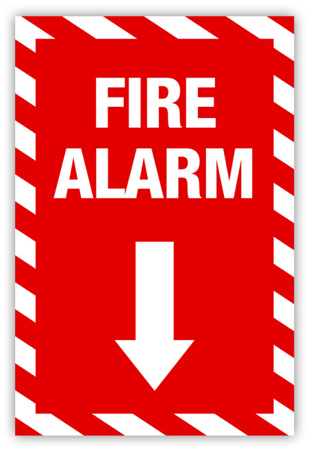 Fire Alarm Label