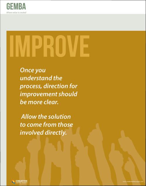 Gemba Poster - Improve