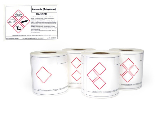 On Demand Custom Ghs Labels Creative Safety Supply