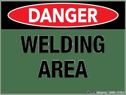Danger: Welding Area - Wall Sign