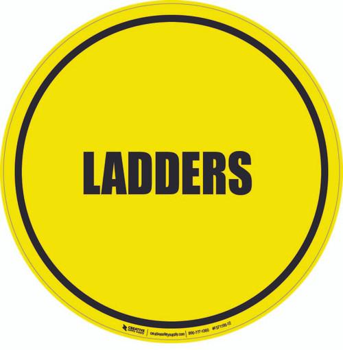 Ladders Floor Sign