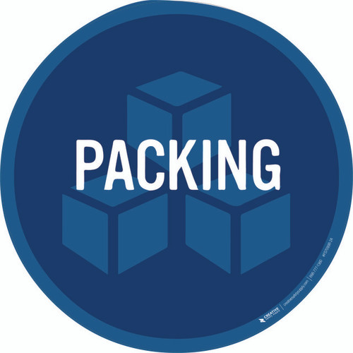 Packing Floor Sign