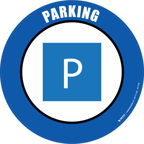 Parking Floor Sign