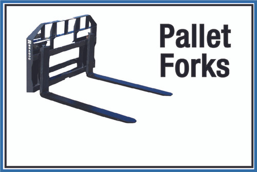 """Wall Sign: (United Rentals Logo) Pallet Forks - 12""""x18"""" (Peel-and-Stick Permanent Adhesive)"""