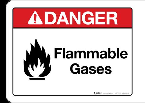 Danger - Flammable Gases