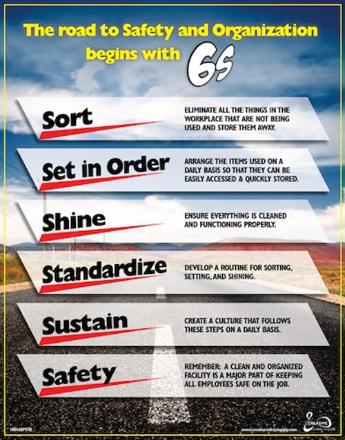 Road to Safety/6S Poster