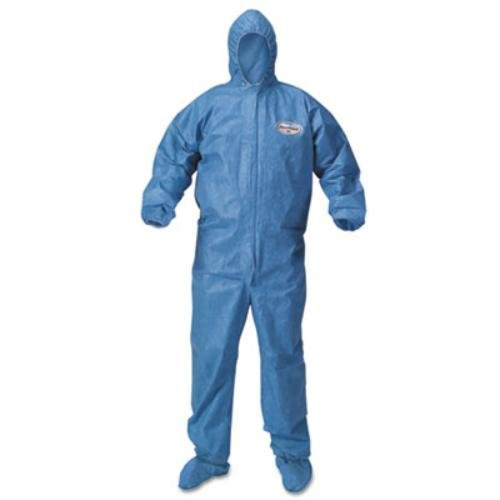 Kleenguard A60 Coverall with Hood and Boots - for Blood and blood born Pathogens