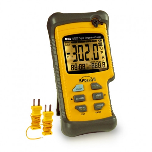 UEI Dual Input Digital Logging Thermometer