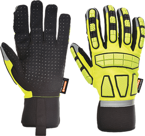 Safety Impact Glove Lined
