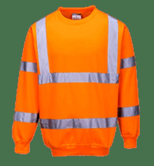 Hi-Vis Sweatshirt, Orange