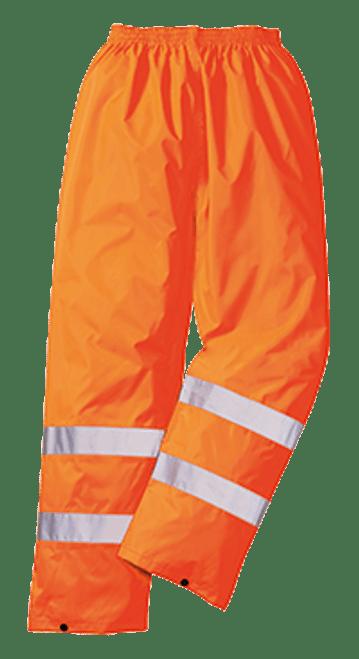 Portwest H441 Hi-Vis Waterproof Rain Pants