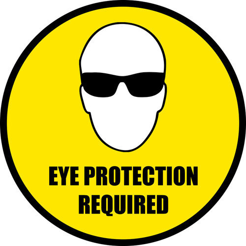 Eye Protection Required