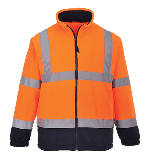 Hi-Vis 2-Tone Fleece, Orange