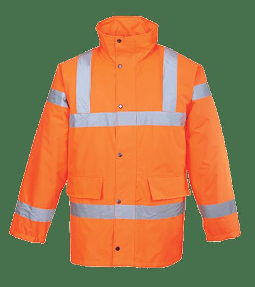 Hi-Vis Traffic Jacket, Orange