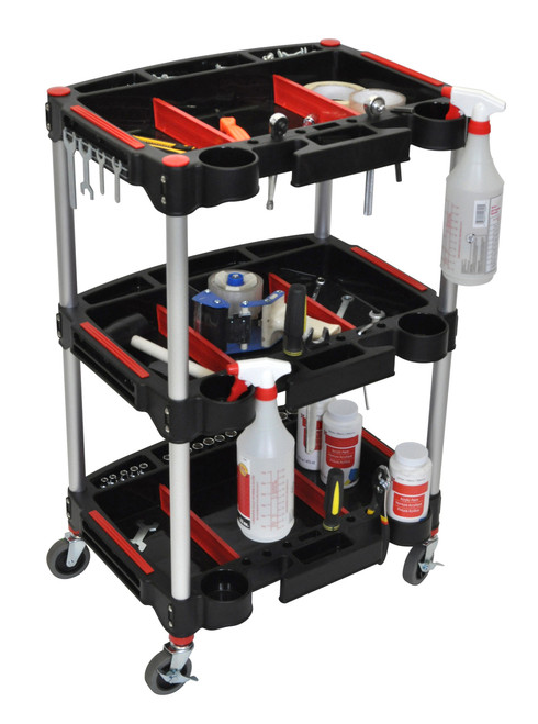 Luxor 3 Shelf Tool Cart