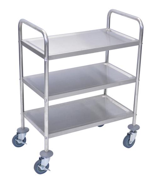 Luxor Stainless Steel Cart 3 Shelves