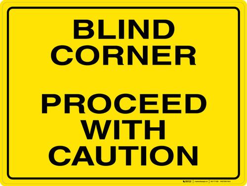 Blind Corner - Wall Sign