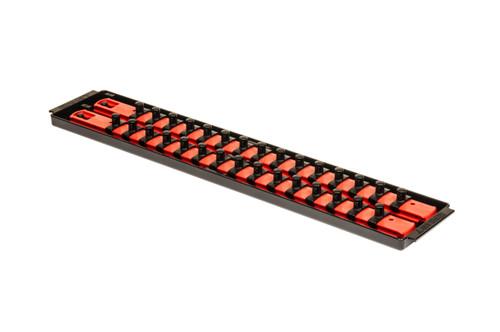 """2 Rail Twist Lock Socket Boss 18"""", Red - 3/8"""""""
