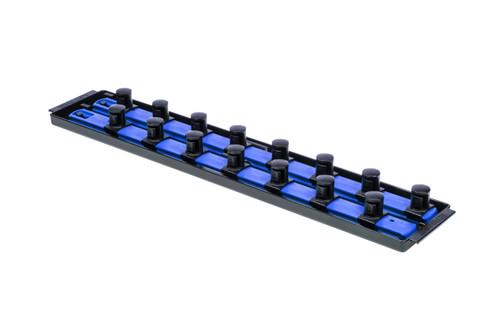 """2 Rail Twist Lock Socket Boss 18"""", Blue - 3/4"""""""