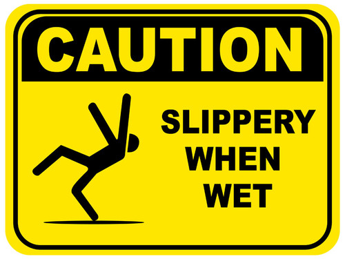 Caution slippery when wet vol2
