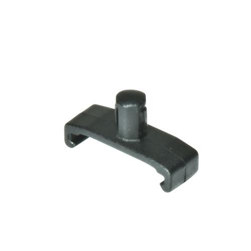 """1/4"""" Dura-Pro Twist Lock Socket Clips - 15 pack - Black"""