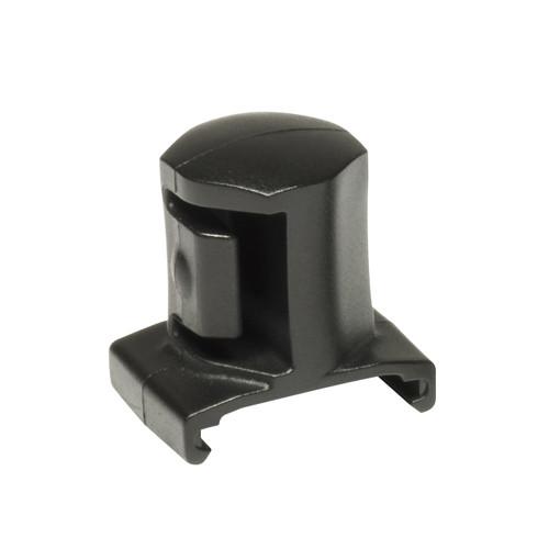 """3/4"""" Dura-Pro Twist Lock Socket Clips -  5 pack - Black"""