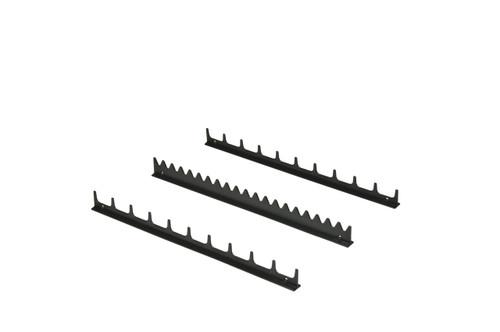 20 Tool Screwdriver Rail Set  w/Mag Tape - Black