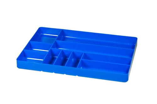 "11 x 16"" 10 compartment Organizer Tray - Blue"