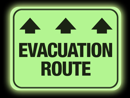 Safety resources creative safety supply glow evacuation route fandeluxe Images