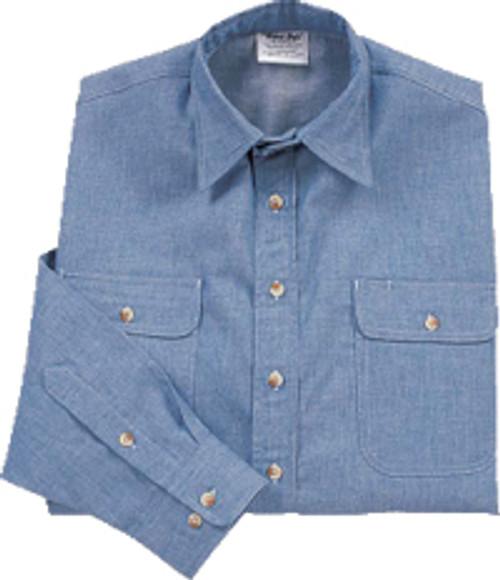 Arc Flash Work Shirt Blue