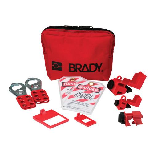 Brady's Popular Breaker Lockout Pouch