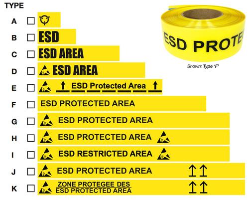Industrial ESD Floor Tape