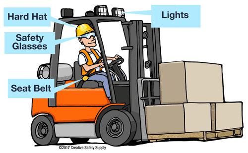 Forklift PPE Safety