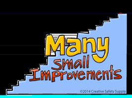 many small improvements