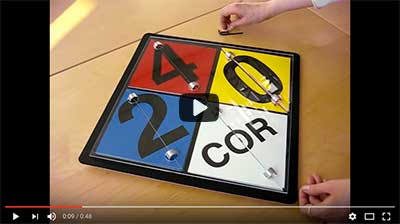 video: NFPA Placard