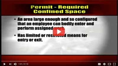 video: Confined Space Permit