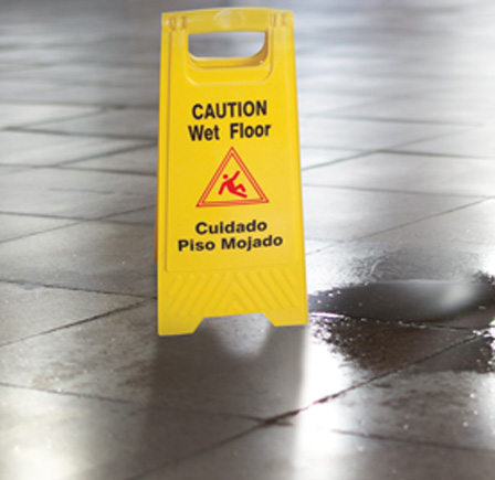2 PACK CAUTION SIGNS WET FLOOR SIGN YELLOW TWO SIDED EASY TO READ /& STORE FOLD UP