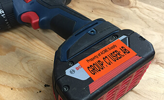 Tool Identification Label