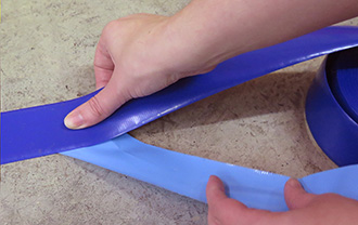 SafetyTac Floor Tape Easy Install