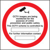 CCTV images are being monitored...