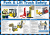 Fork Lift Truck Safety Poster