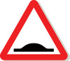 Speed bumps sign