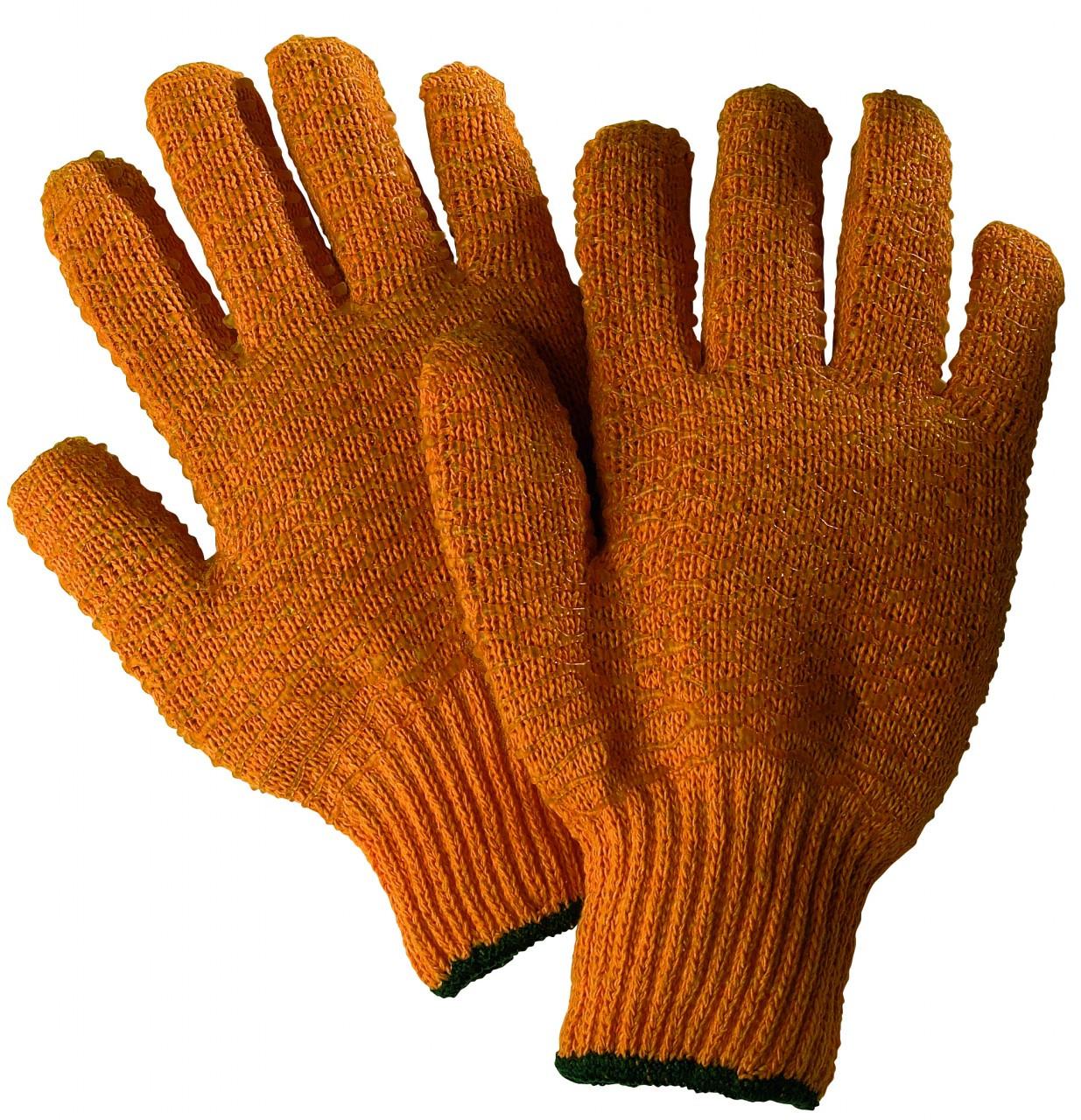 Orange Criss Cross Glove