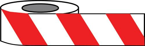 Red/White Hazard warning tape