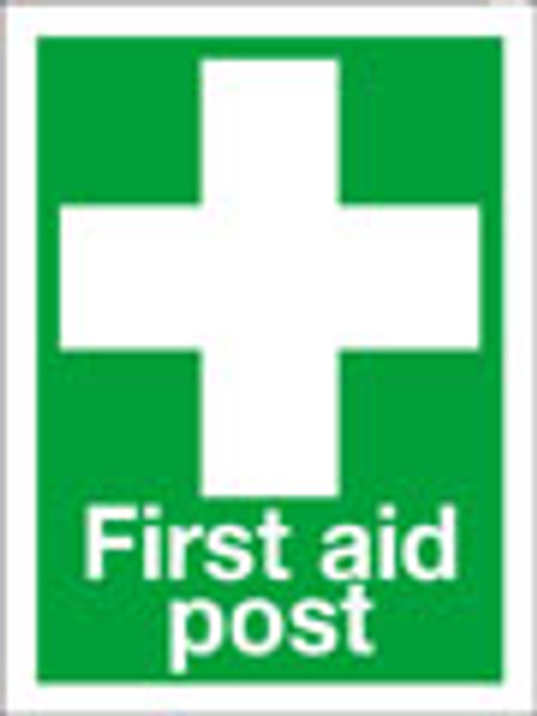 First aid post sign