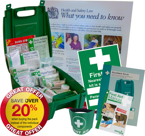 British Standard Compliant First Aid Compliance Pack